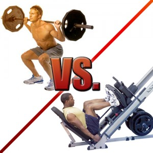 Squats vs. Leg Press