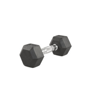 Hex Rubber Dumbbell BRUTEforce® by Renouf Fitness