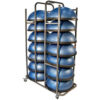 Bosu Ball Storage Cart
