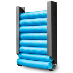 FOAM ROLLER STORAGE by Renouf Fitness