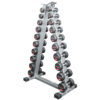Vertical Dumbbell Rack by Renouf fitness®