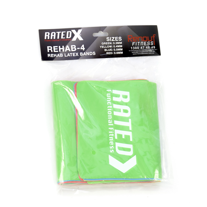REHAB LatexBands(pack)byRATED®