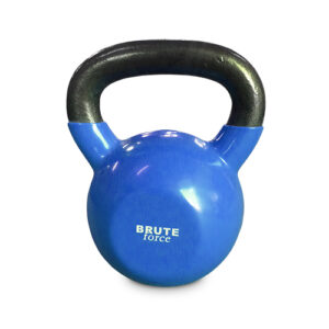 KB SteelwithVinyldippedkgKettlebellbyBRUTEforce®