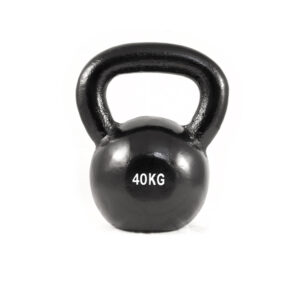 cast iron kettle bell 40kg by Renouf fitness