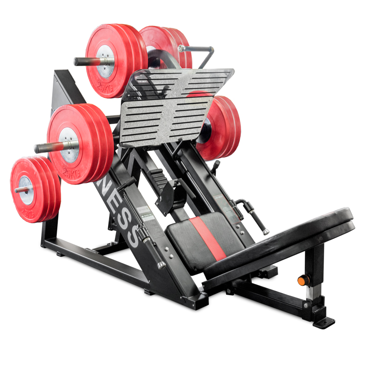 Leg Press commercial 45 degree angle by Renouf Fitness