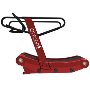 Curved deck treadmill OLYMPUS® by Renouf Fitness