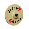 Wooden Olympic training plate by Renouf Fitness