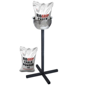 chalk bowl and stand plus bags of chalk by Renouf fitness