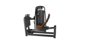 Commercial seated weight stack leg press by Renouf Fitness