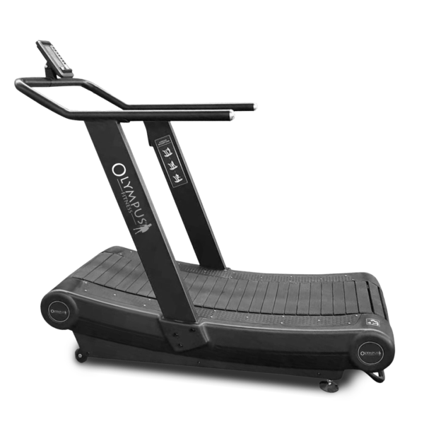 Curved deck treadmills by Renouf Fitness