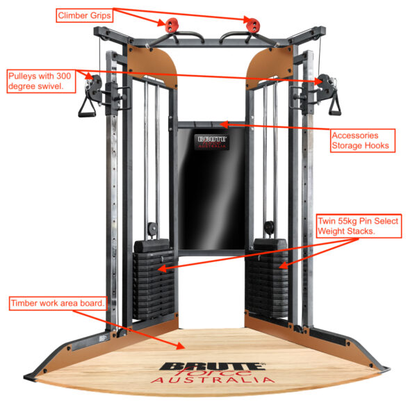 functional trainer Home Gym bt Renouf Fitness