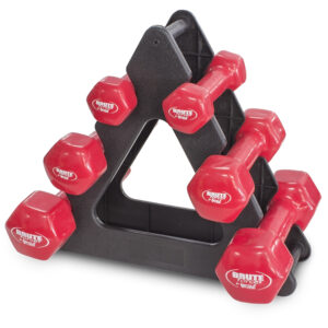 Dumbbell rack by Renouf Fitness